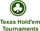 online texas holdem tournaments